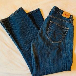 Levi's Medium Wash Curvy Cut Jeans Size 10 Short